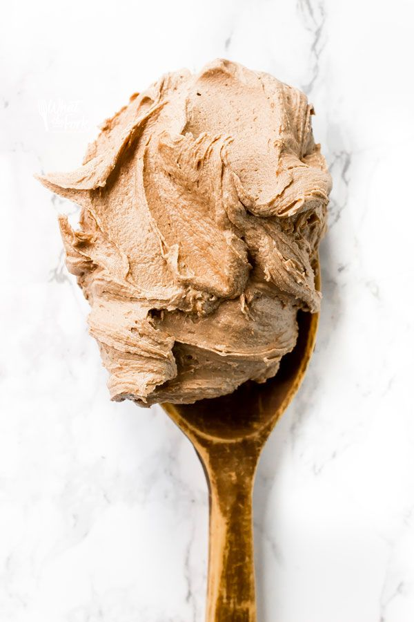 Creamy, dreamy Nutella Buttercream! This is one of the best frosting recipes you'll ever try - you'll want to spread it on everything.