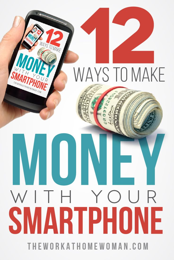 Looking for ways to make extra money? Check out these 12 legit ways to make money from home by using your smartphone.