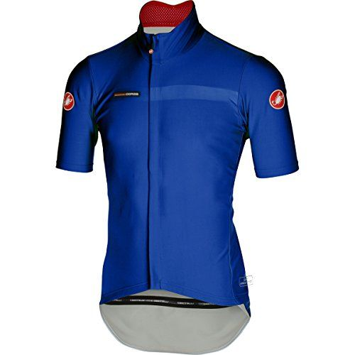 Castelli Gabba 2 Jersey ShortSleeve Mens Surf Blue L     Want to know more b9de98217