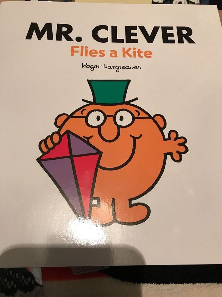 Mr. Clever Flies A Kite 21cm x 23cm NEW  | eBay