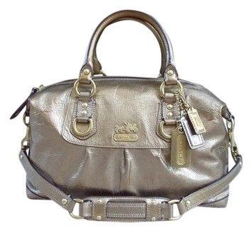 9dea165cd Coach Madison Sabrina Gold Metallic Bag - Satchel $139   Handbags ...