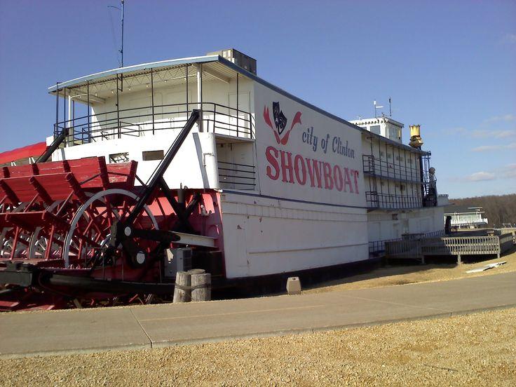 Clinton, Iowa Showboat Theater | Mapio.net