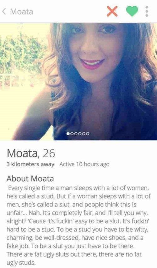 Funny girl dating profiles