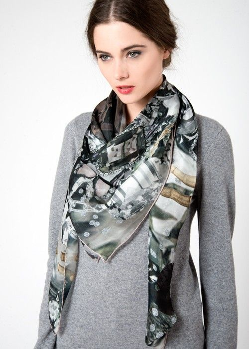 Jane Carr Jewel scarf at Mode | B