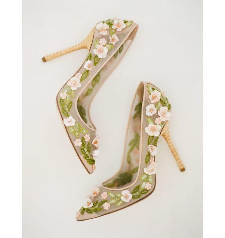 Туфельки в цветочек картинки