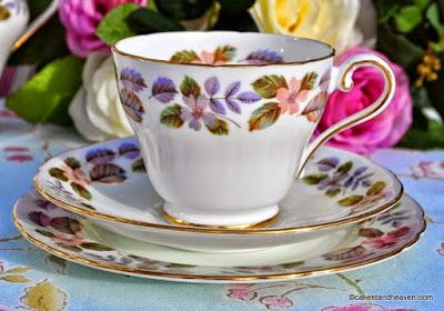 soporte de la torta cielo: té de la tarde