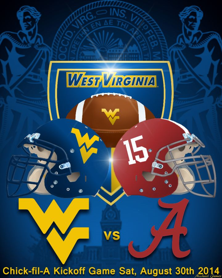 It's never too early.... With spring ball in the books, #WVU will now prepare for Nick Saban and the Alabama Crimson Tide.  Let's Go MOUNTAINEERS!