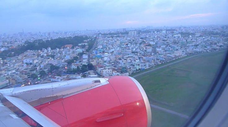 Arrival Saigon Ho Chi Minh City Vietnam Airport SGN