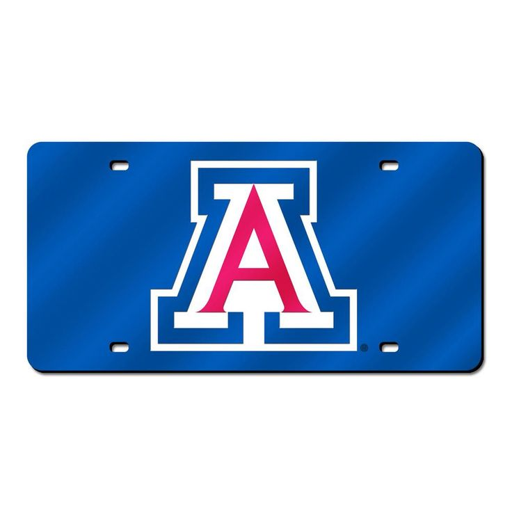Arizona Wildcats Ncaa Laser Cut License Plate Cover