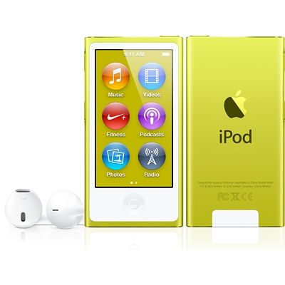Refurbished iPod nano 16GB - Silver (7th generation) - Apple Store (U.S.) $99 - for the gym??