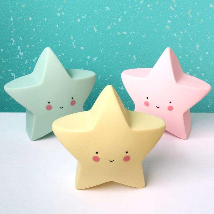 Stjärnlampa - A Little Lovely Star Light