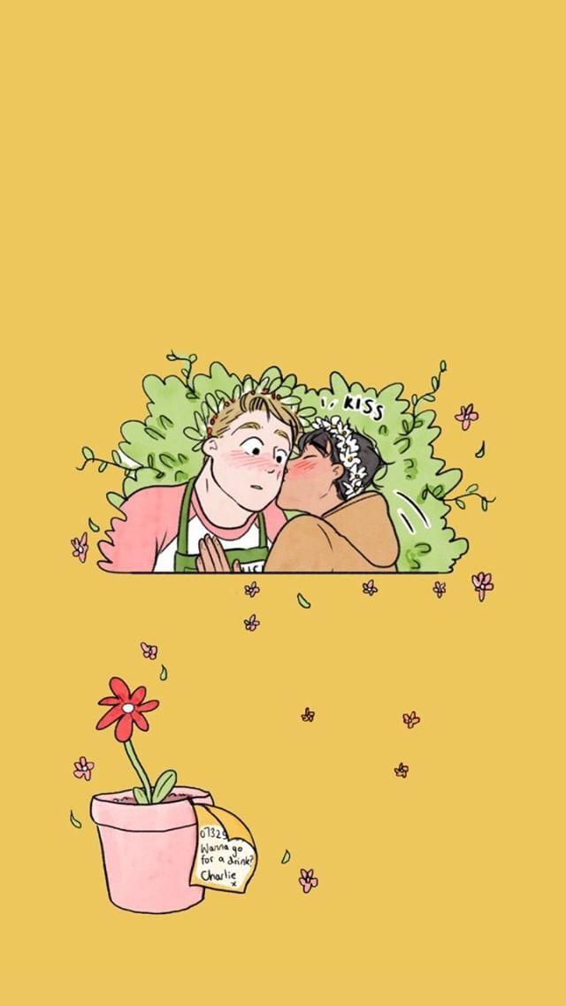 Pin By Alejandra Rodriguez On Fondos De Pantalla Cute Stories Cute Comics Book Fandoms