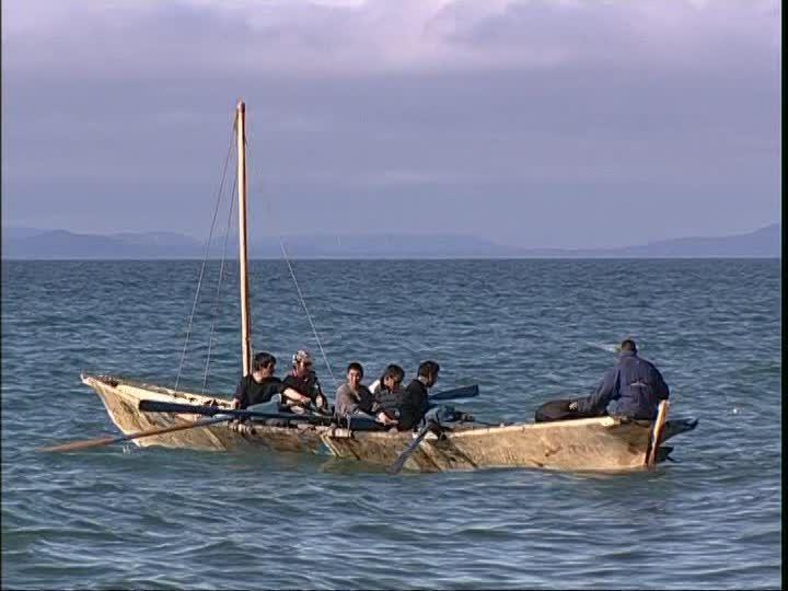 Umiak Inuit Ocean Pacifique Nord
