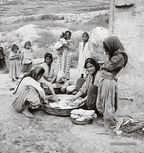 Washing Clothes: Nazareth, Palestine 1900-1920