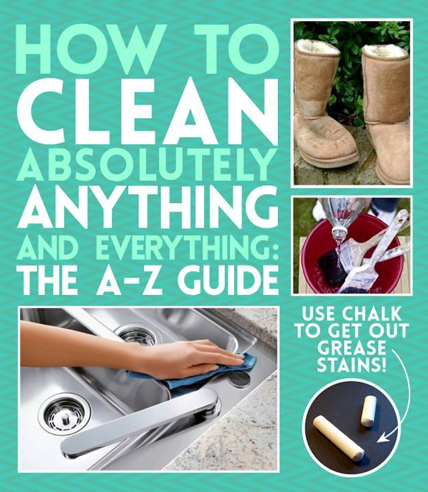How To Clean (Almost) Anything And Everything | BuzzFeed