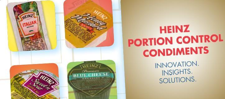 Portion Control Condiments