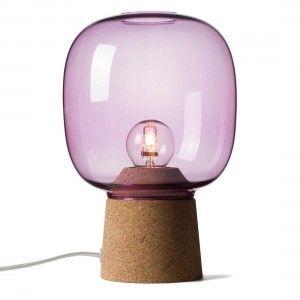 Lampada Da Tavolo Picia Viola
