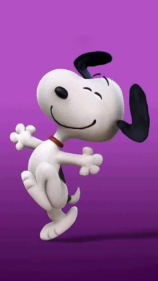 watch Snoopy and feel good again