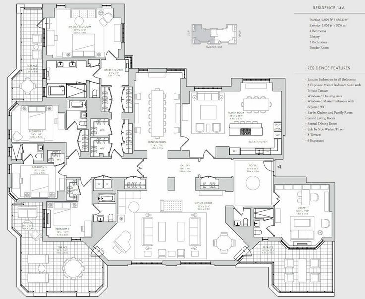 1000 ideas about condo floor plans on pinterest luxury for City house plans