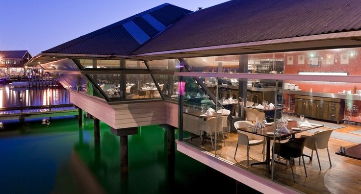 The Mussel Bar Restaurant Fremantle,  view from the dock! Book a table online now http://musselbar.com.au/contact.html
