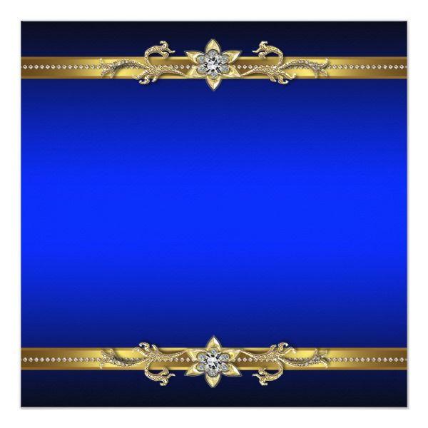 Create Your Own Invitation Zazzle Com Royal Background Black
