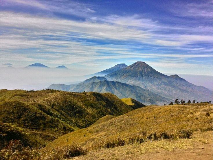 Mount Prau, Indonesia #mountain #visitIndonesia