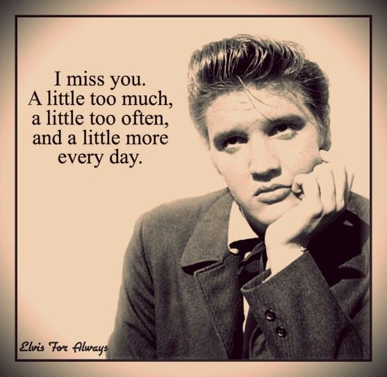 Famous Elvis Quotes: The King Of Rock 'n Roll! Images On