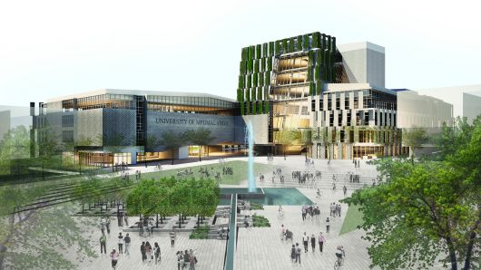 Finalist Proposal for First Public University in South Africa Since Apartheid / @ArchDaily | #socialcampuses