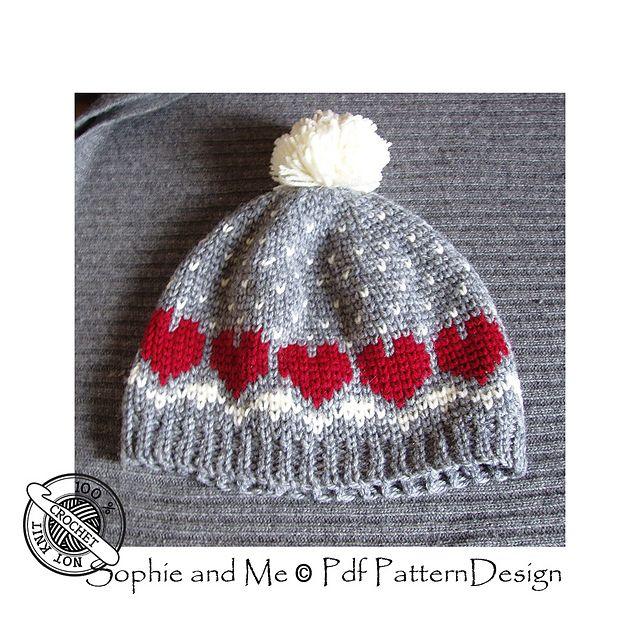 Crochet a Fair Isle hat!