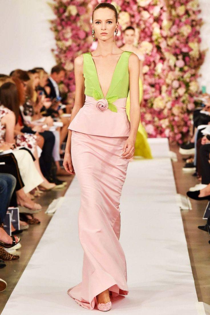 Вечерний выход: 150 лучших вечерних платьев Недели моды в Нью-Йорке. Галерея №1