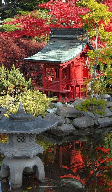 Japanese Garden at Point Defiance Park in Tacoma, Washington • photo: SeattleJack on Flickr