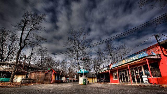 abandoned Williams Grove Amusement Park in Mechanicsburg, PA.