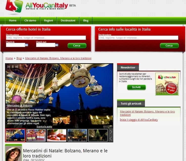 Partito anche il blog di AllYouCanItaly dove troverete i nostri racconti di viaggio! http://www.allyoucanitaly.it/blog