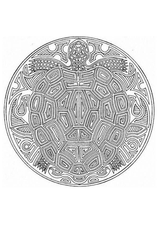 This Expert Mandala Coloring Sheet Is A Fun Design And Quite Challenging To Color Page Can Be Decorated Online With The