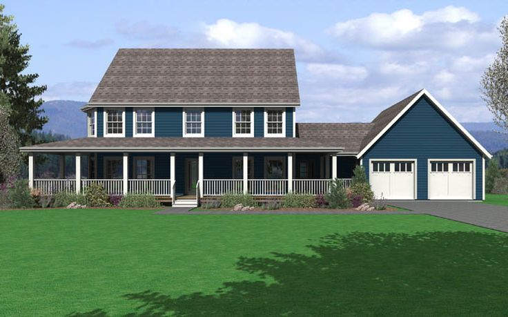 Modular Home Floor Plan Traditional Two Stories