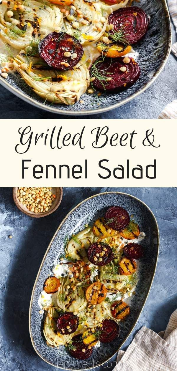 Grilled Beet And Fennel Salad