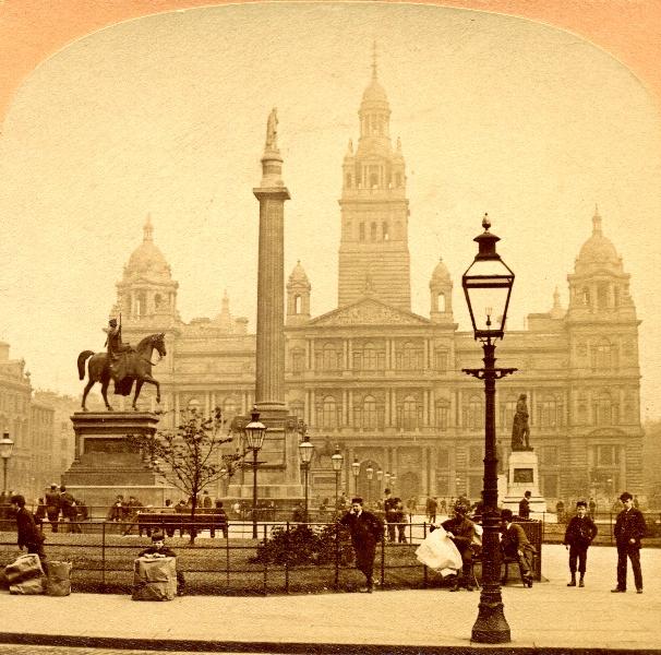 George Square 1891 #glasgow #history #heritage