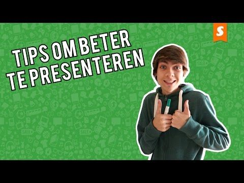 Presenteren kun je leren - YouTube
