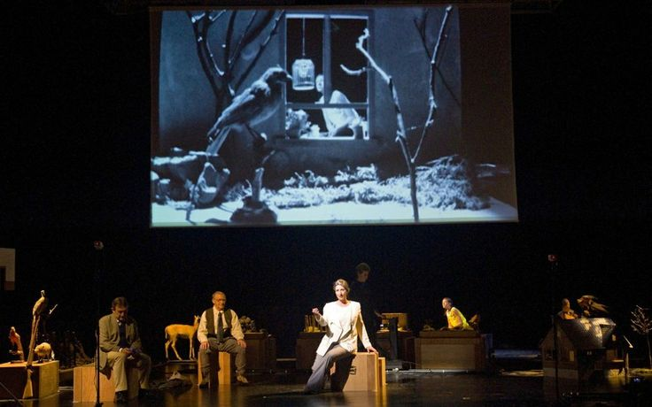 Muziektheater Transparant - Blond Eckbert, Scenography by Sarah & Charles