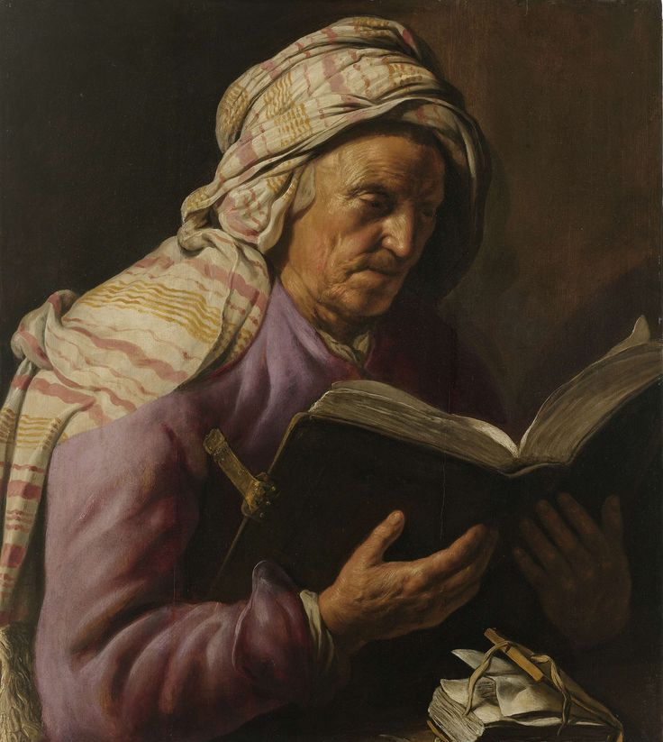 Old Woman Reading, Jan Lievens, 1626 - 1633