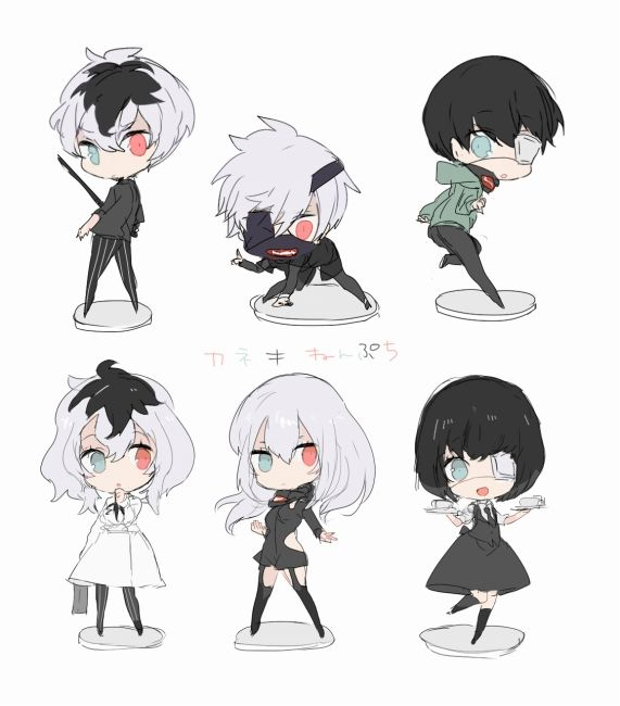 Kaneki & Haise & Genderbend Kaneki and Haise || would those be their female names too?