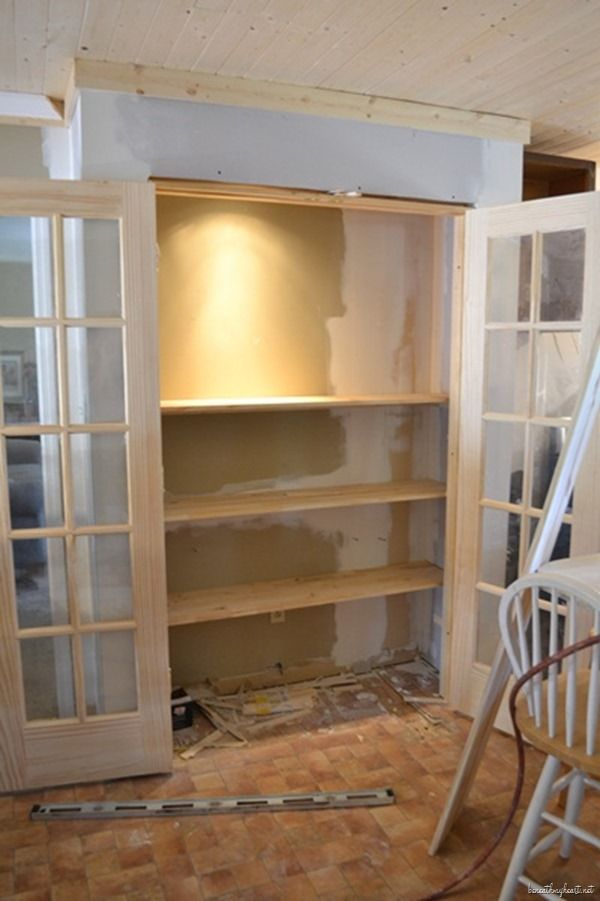 building a pantry cabinet | Pantry Coffee Station {#keurig | Pantry room, Pantry ...
