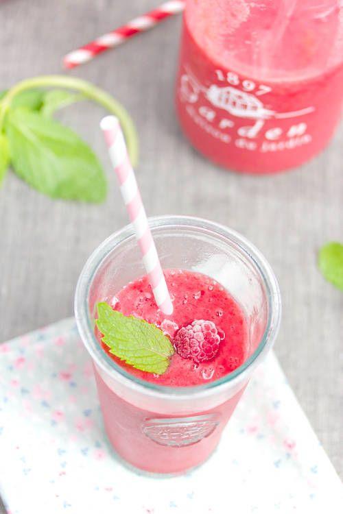 Frambozen Smoothie - Raspberry Smoothie #recept