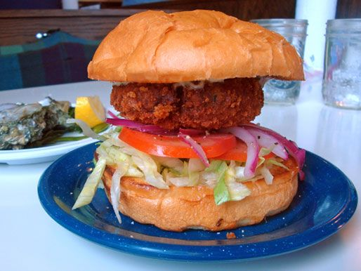 Crabby Patty from Fish Bar in Chicago, IL (I'll have to try making this at home at some point...)