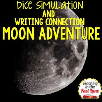 Adventure Writing Project: Moon Dice Simulation