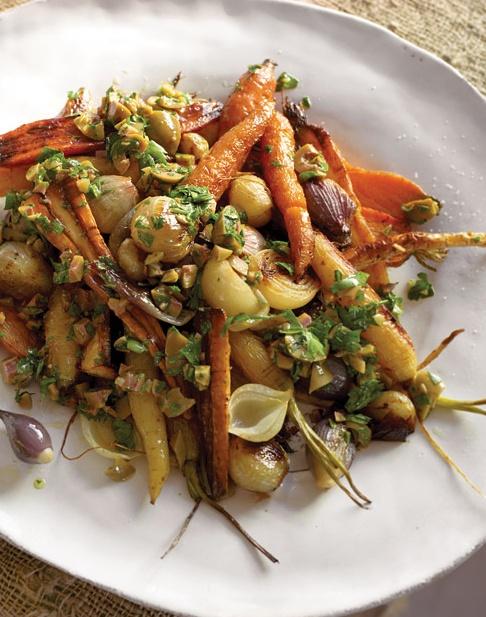 Roasted Carrots, Parsnips, and Shallots - http://paleoaholic.com/paleo ...