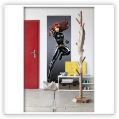 Fotomurale Blak Widow | Originale Komar - Spidersell Italia | Decorazione creativa