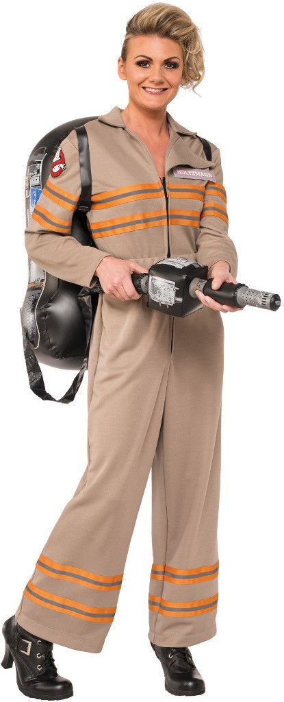 teen girl's costume: ghostbusters female   large