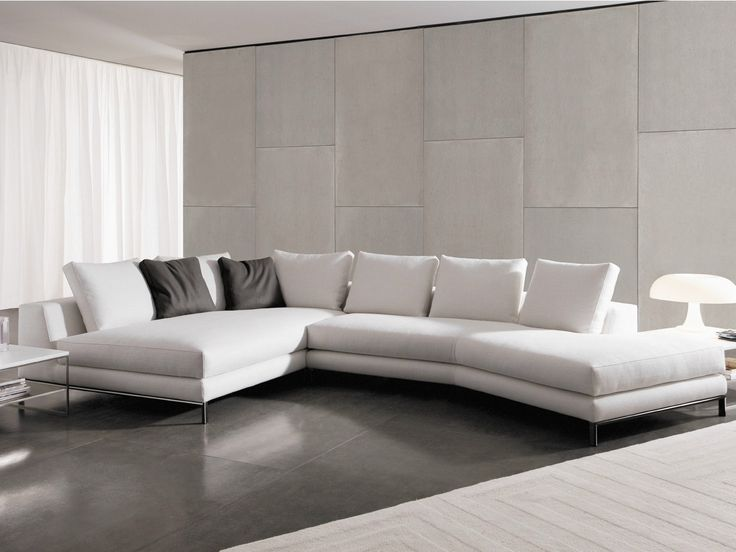 sectional upholstered fabric sofa hamilton islands hamilton series by minotti home decor. Black Bedroom Furniture Sets. Home Design Ideas