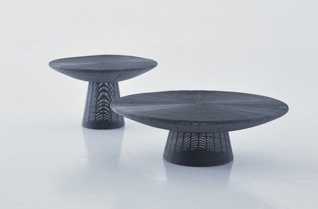 Gervasoni, Filo 03 coffee table & Filo 04 side table, projects by Paola Navone.